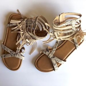Justice | gladiator sandals boho chic